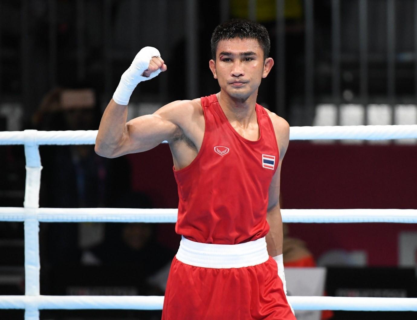 2 นักชกไทยเฮ ก่อนขึ้นชกโอลิมปิกเกมส์