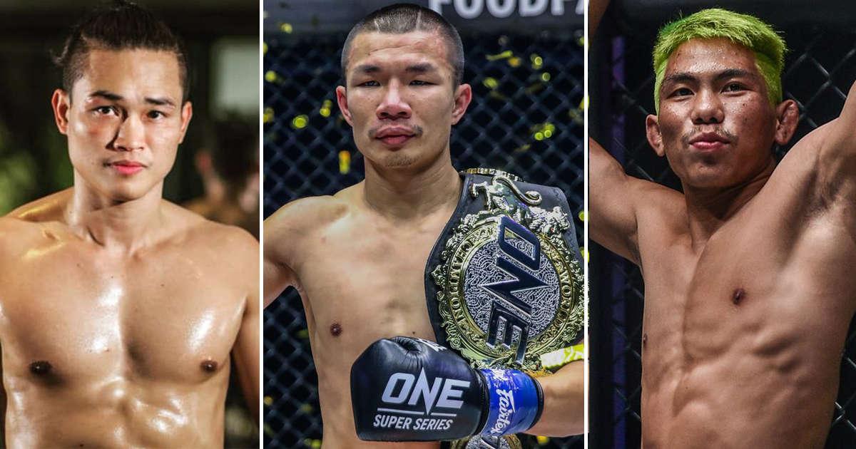 3 นักสู้แถวหน้าของไทย
